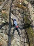 Rock Climbing Photo: up higher...