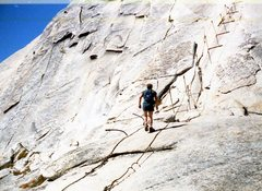 Rock Climbing Photo: Half Dome 1979