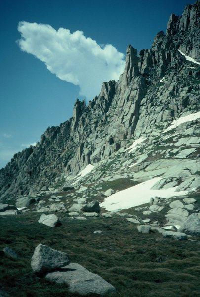 Rock Climbing Photo: A spire.