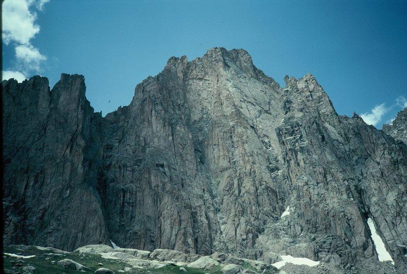 Rock Climbing Photo: Remote San Juan wall.