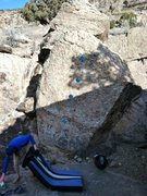 Rock Climbing Photo: Pottery Boulder-Bill Wilson.
