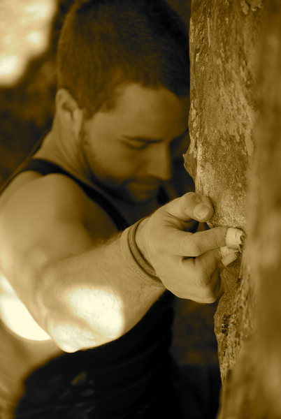Rock Climbing Photo: HCR, AR
