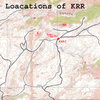 Locations of Kennedy Ranch Rocks and Kennedy Ranch Rocks Junction( KRRJ).