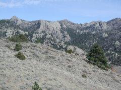 Rock Climbing Photo: Pine Mountain Complex
