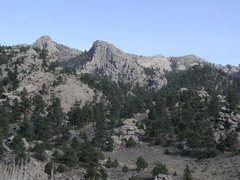 Rock Climbing Photo: Member of Pine Mountain Complex as seen from Duck ...