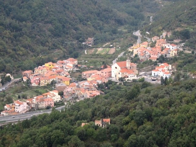 Rock Climbing Photo: View from Monte Cucco toward Feglino
