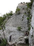Rock Climbing Photo: Folks climbing on the Tower at Settore della Torre
