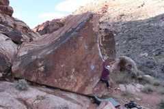 Rock Climbing Photo: Pork Chop