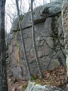 Rock Climbing Photo: King Philip - V3-4 highball