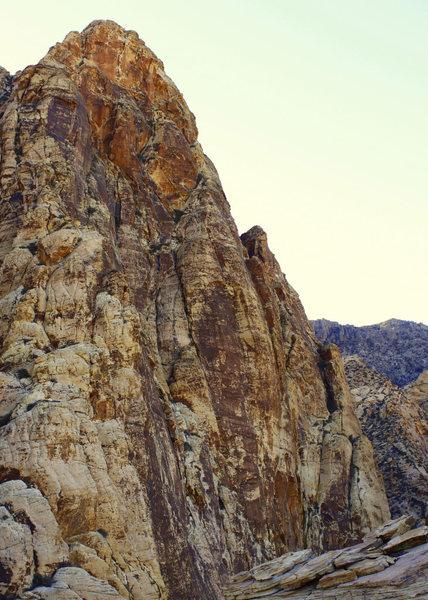Black Velvet Peak from the summit of Whiskey Peak