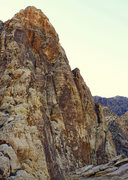 Rock Climbing Photo: Black Velvet Peak from the summit of Whiskey Peak