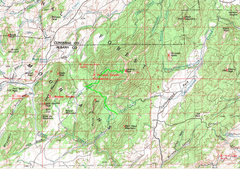 Rock Climbing Photo: Map of the Laramie Peak Region