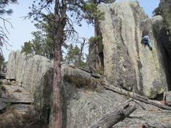 Rock Climbing Photo: Estes Creek