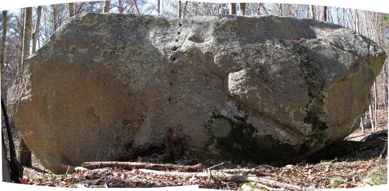 The Hudson Boulder