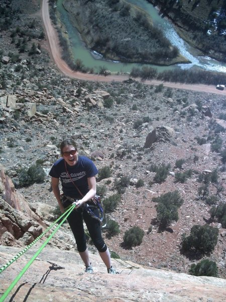 Rock Climbing Photo: Yes, it's fun!