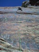 Rock Climbing Photo: Jess on Shock and Awe.