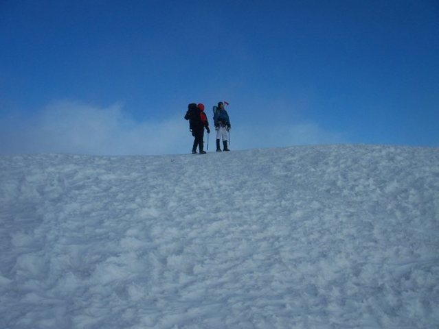 Summit of Mt. Rainier- July 2010