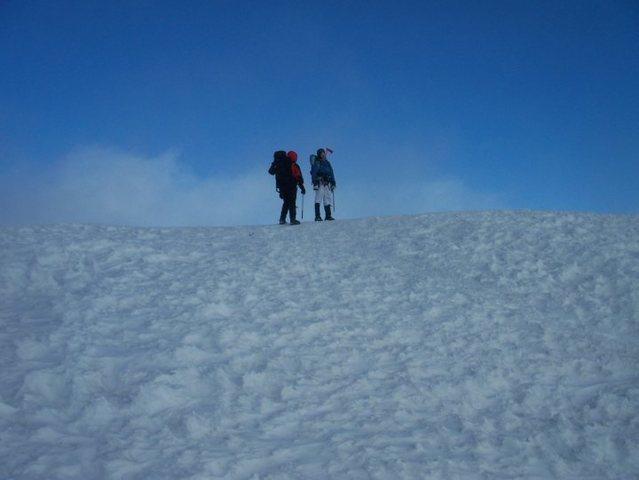 Summit of Mt. Rainier- July 2010