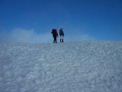 Rock Climbing Photo: Summit of Mt. Rainier- July 2010