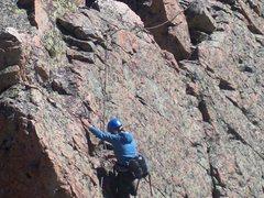 Climbing in CO