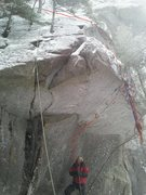 Rock Climbing Photo: The True Great Roof A2+