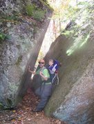 Rock Climbing Photo: hiking in the fall