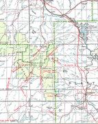 Rock Climbing Photo: North Laramie Range Road Map