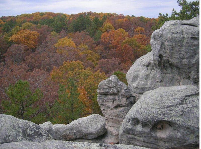 Rock Climbing Photo: top of dome