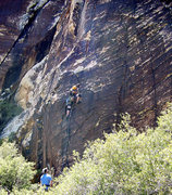 Rock Climbing Photo: Low on Return of the Jedi