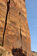 Rock Climbing Photo: The Monk: Sweet and a bit tricky right at the end....