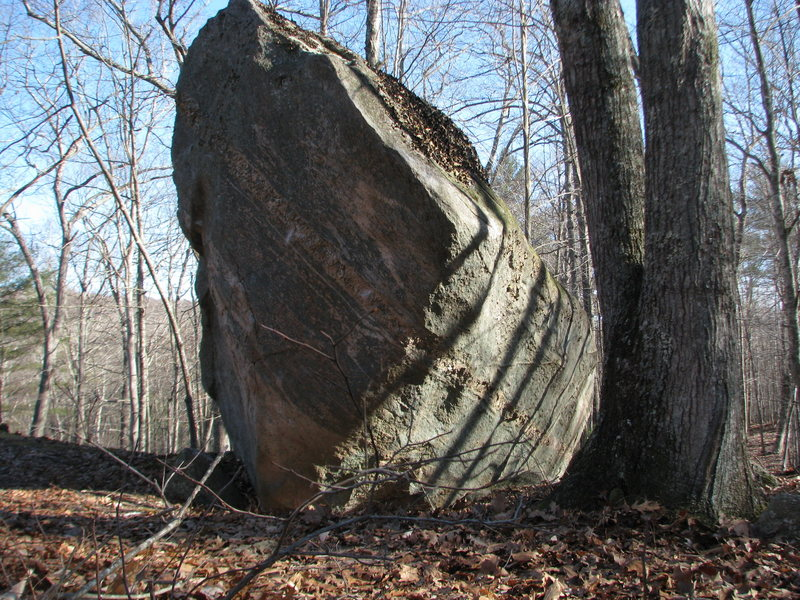 Rock Climbing Photo: Another view of the Escoheag Boulder