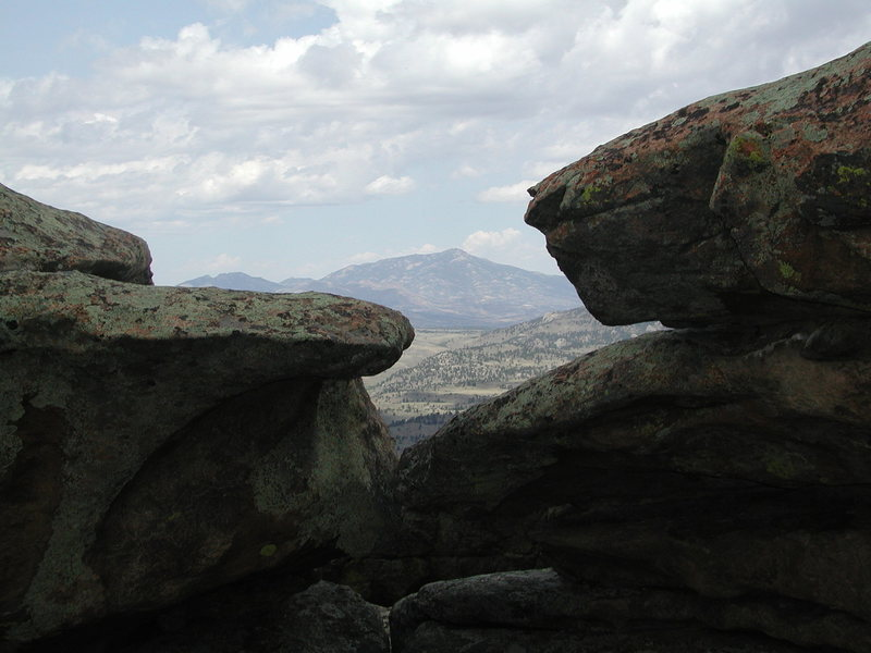 Rock Climbing Photo: Laramie Peak from Reese Mtn Summit