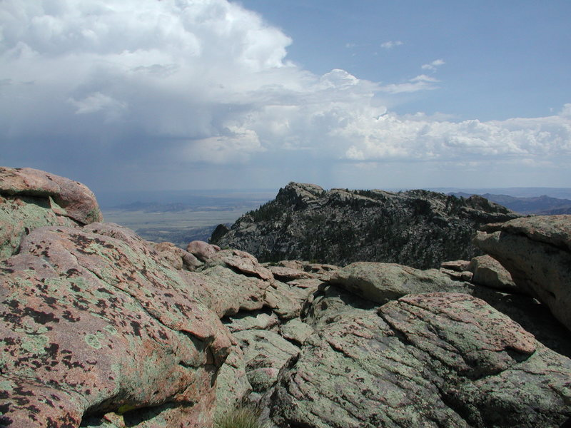 The East Summit Ridge of Reese Mtn is only 10 ft lower than highest point on the north end.