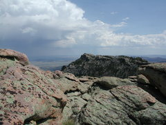 Rock Climbing Photo: The East Summit Ridge of Reese Mtn is only 10 ft l...