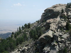 Rock Climbing Photo: Find the Bighorn Sheep in the photo.  These rocks ...