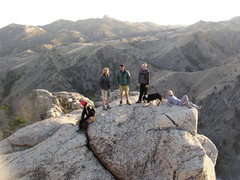Rock Climbing Photo: Catching the last rays on the Southwest Ridge