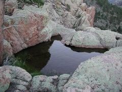 Rock Climbing Photo: Perennial Water Pools at Reese