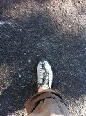 Rock Climbing Photo: Foot