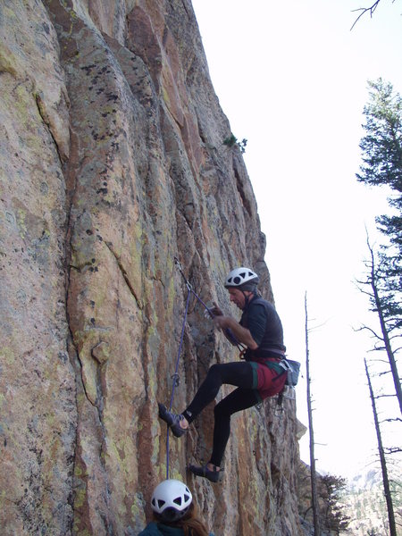 Rock Climbing Photo: Freddie caught losing his grip on Early Timing 11d