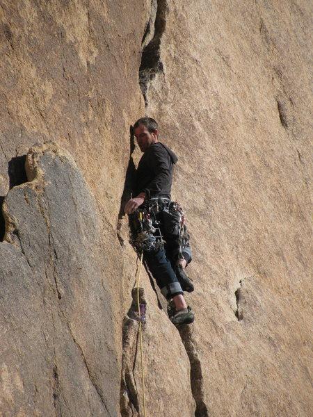 Rock Climbing Photo: me on illusion dweller