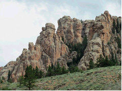 Rock Climbing Photo: The eye opening sight of seeing the Rock Ridges of...