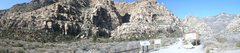 Rock Climbing Photo: panorama willow springs