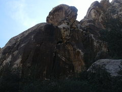 Rock Climbing Photo: BIG FOOT WALL FROM A DISTRANCE LOOKS LIKE AN INDIA...