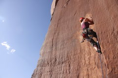 "Rock Climbing Photo: Anna B making it look easy on another ""unname..."