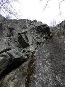 Rock Climbing Photo: Big Ol' Crack climbs the crack on the right, Sunsh...