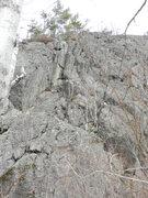 Rock Climbing Photo: A terrible photo of Swami