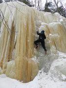 Rock Climbing Photo: Melissa on Iron Man
