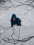 Rock Climbing Photo: Melissa enjoying a nice warm up