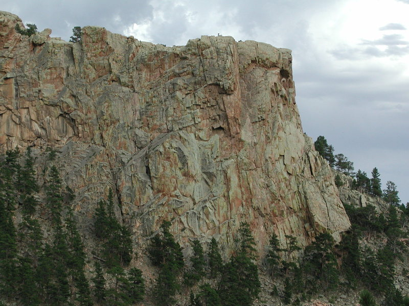Rock Climbing Photo: The west face of the Hightower