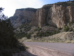 Rock Climbing Photo: The North (synclinal) Limestone Wall of Irish Cany...